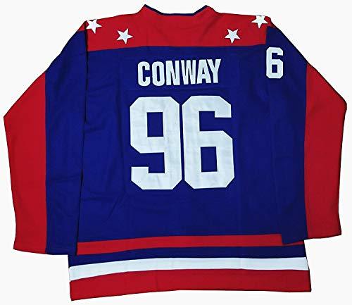 (Kooy Charlie Conway #96 Mighty Ducks Movie Hockey Jersey Team USA (2XL))