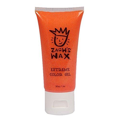 Zach's Wax Color Hair Gel - Orange - 1 Ounce]()