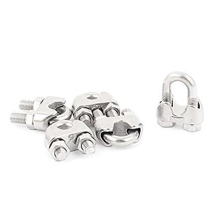 eDealMax M5 Rosca acero inoxidable 304 Cuerda clips de ...