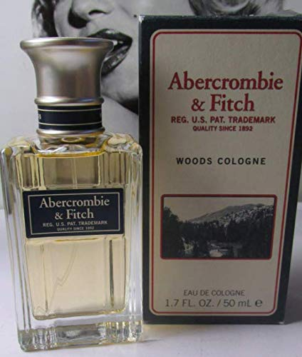 DISCONTINUED - SOLD OUT!! ABERCROMBIE & FITCH WOODS MENS COLOGNE 1.7 OZ (Woods Abercrombie And Fitch)