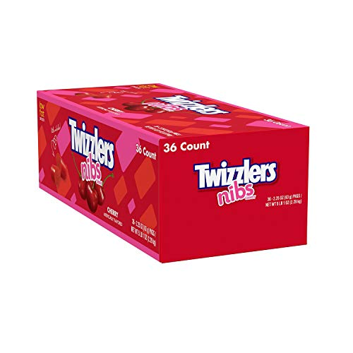 Twizzlers Cherry Nibs Red Licorice Bites - 36 / Box