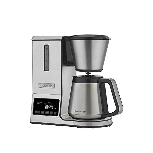 - Cuisinart CPO-850 Pour Over Coffee Brewer Thermal Carafe, Stainless Steel