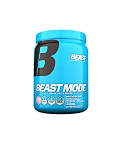 Beast Sports Nutrition Beast Mode Pre-Workout, Pink Lemonade, 19.50 Ounce