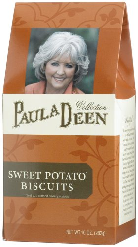 Paula Deen Collection Sweet Potato Biscuit Mix, 10-Ounce Boxes (Pack of 3)