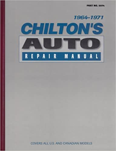 Chiltons auto repair manual 1964 71 chilton 9780801959745 chiltons auto repair manual 1964 71 1st edition fandeluxe Image collections