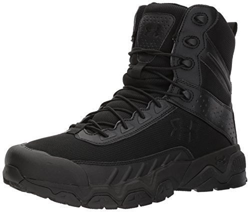 Under Armour Men's Valsetz 2.0 Military and Tactical Boot, (001)/Black, 10