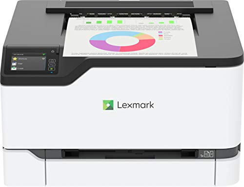 Lexmark C3426dw Color Laser Printer with Interactive Touch Screen, Full-Spectrum Security and Print Speed up to 26 ppm…
