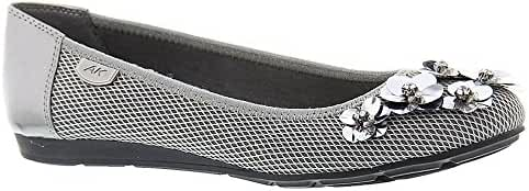 AK Anne Klein Sport Women's Autumn Fabric Ballet Flat