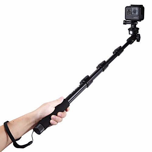 Take-Pole Monopod with Remote Shutter Set of 2 (Blue) - 6