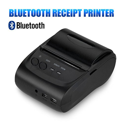 Portable Bluetooth Printer Wosports Thermal product image
