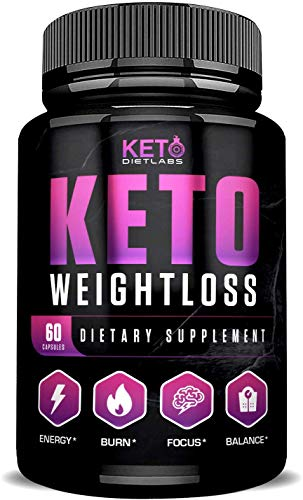 Keto Diet Labs – Keto Weightloss – 60ct – Keto Pills for Weight Loss – Perfect Keto Max Results – Ketogenic Diet Supplements for Men and Women – Keto Burn for Advanced Ketosis – Exogenous Ketones BHB