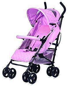 Play Funky - Silla de paseo Pink Stars + Colchoneta Universal Bebess