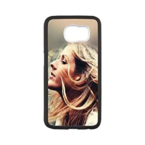 Samsung Galaxy S6 Cell Phone Case Black Ellie Goulding Flowers GY9267114