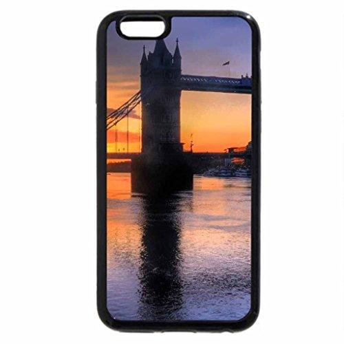 iPhone 6S / iPhone 6 Case (Black) Sunrise at the London Tower Bridge