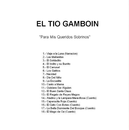EL TIO GAMBION - El Tio Gambion Para Mis Queridos Sobrinos - Amazon.com Music