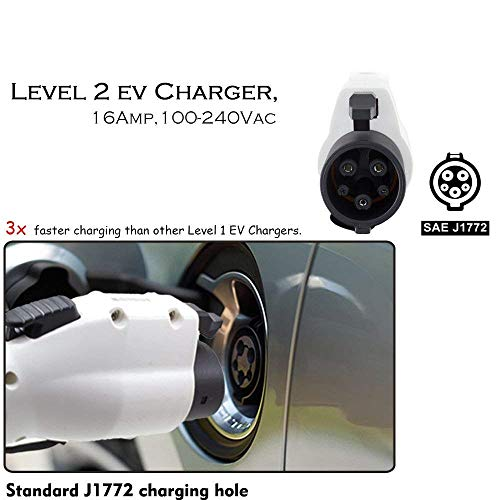 PRIMECOM Level-2 Electric Vehicle Charger 220 Volt 30', 35', 40', and 50' Feet Lengths (L14-30P, 30 Feet) by PRIMECOM (Image #9)