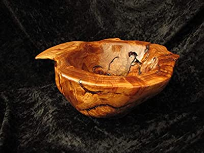 Stunning Burl Bowl Chainsaw Carved
