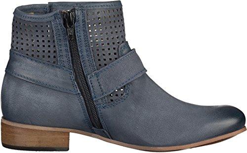 Tamaris1-1-25346-34/802 - botines de caño bajo Mujer Azul - Denim