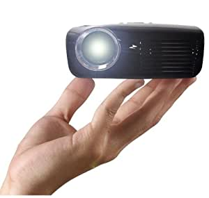AAXA Technologies M2 Micro - Proyector (110 lúmenes ANSI, LCOS, XGA (1024x768), 15000 h, LED, Manual) Negro