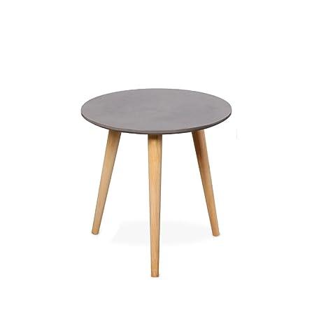 LYLian-Table Hogar Mesa de Centro Creativa, Redonda/de ...