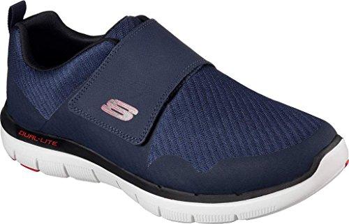 Skechers Sports Mens Mens Flex Fordel 2,0 Gurn Mote Sneaker Navy / Red