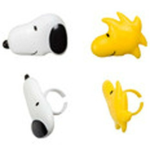 12 Snoopy and Woodstock Peanuts Cupcake Rings Toppers Party Favors U.S Top Seller!