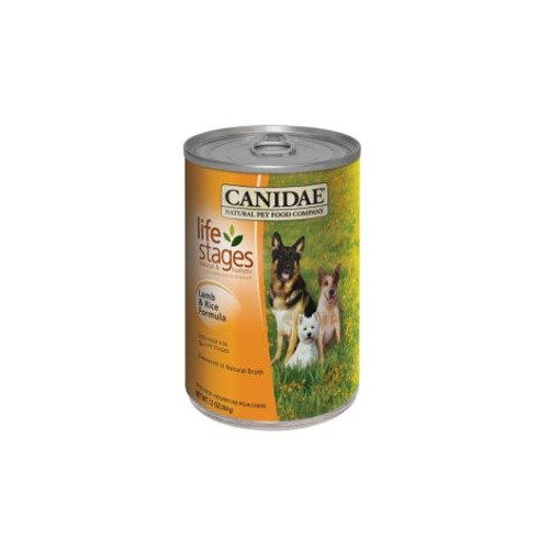 CANIDAE Life Stages Lamb and Rice Formula Canned Dog Food