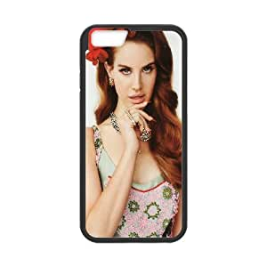 Lana Del Ray iPhone 6 Plus 5.5 Inch Cell Phone Case Black Aaoff