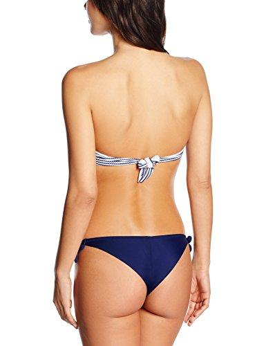 Bellissima Bikini Cannes - Bikini Mujer Mehrfarbig (bianco/blue 9)