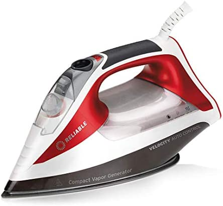 graceUget Mini Portable Electric Steam Iron Dustproof Household Flatiron Travel Temperature Control Electric Iron for Clothes