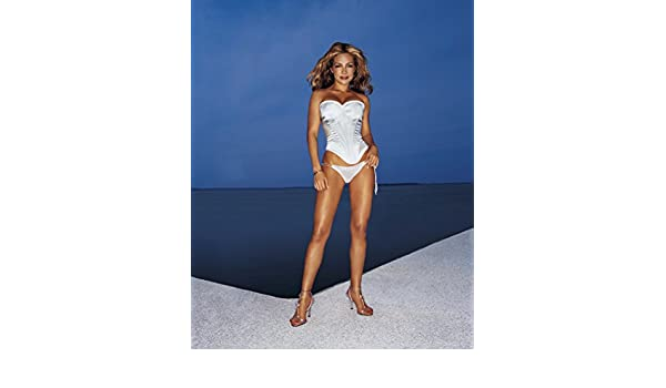 8bb0c22fa Vanessa Marcil Whte Lingerie and Heels Full Modeling Photo (8 inch by 10  inch) PHOTOGRAPH TL at Amazon s Entertainment Collectibles Store