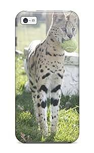 CaseyKBrown Iphone 5c Hybrid Tpu Case Cover Silicon Bumper Savannah Cats
