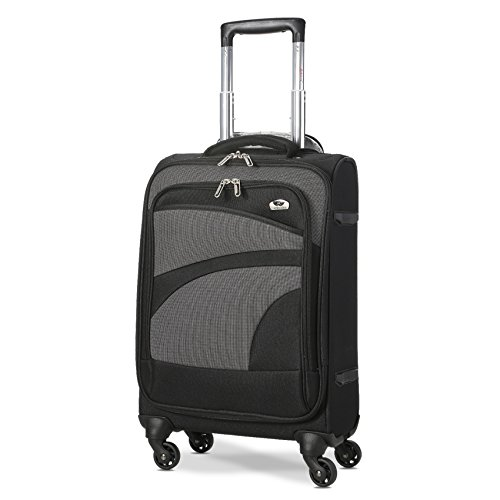 Aerolite Super Lightweight Travel Carry On Cabin Hand Luggage Suitcase with...