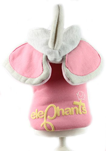 At-at Costume For Dog (MaruPet Dog Sugar-loaf Warm Popular Coton Acrylic Long Nose Elephants Cute the Latest Version Pet Cloth Relaxation Thicken Sweet Light Pink XS)