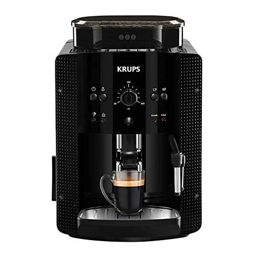 chollos oferta descuentos barato Krups Roma EA81R870 Cafetera súper automática 15bar molinillo de café cónico de metal 1 7L función automática de vapor Reacondicionado Certificado