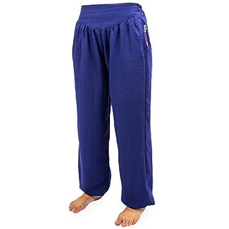 wu designs Baumwolle (Leicht) Damen Kung Fu & Yoga Trainingshose