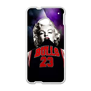 Go Bulls Cell Phone Case for HTC One M7