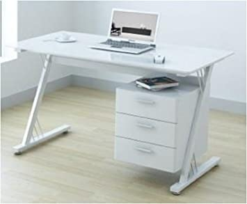 office glass tables. uoffice glass and gloss white computer office desk workstation tables t