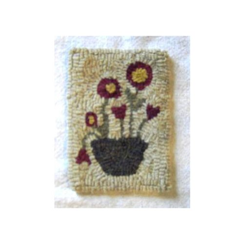 Beginner Rug Hooking Kit - Red