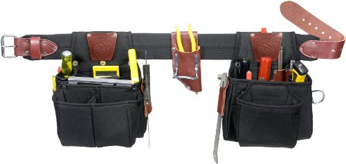 Occidental Leather 9525 SM The FinisherSet Round Leather Tool Bag