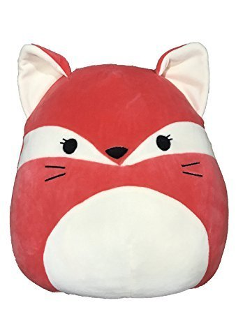 Kellytoy Squishmallow 8 Inch Fifi the Fox Red Super Soft Plush Toy Pillow Pet