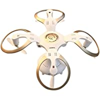 Qiyun RC Quadcopter Utoghter 69108 2.6G RC Quadcopter Wifi Real-time Transmission Barometric Fixed Altitude Unmanned Aerial Vehiclecolour:White