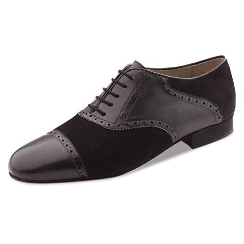 Werner nucléaire-Homme Chaussures de danse 28047-Cuir noir