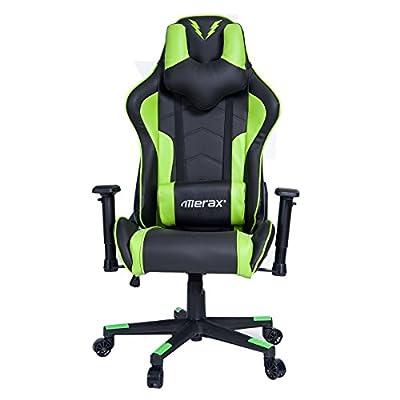 Merax U-Knight Series Racing Style Gaming Chair Ergonomic High Back PU Leather from Merax