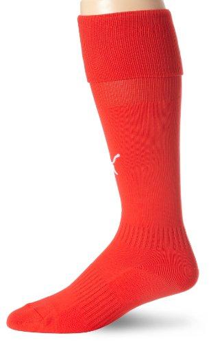 - Puma Men's Team Socks (Puma Red, Large (7-12) Adult )
