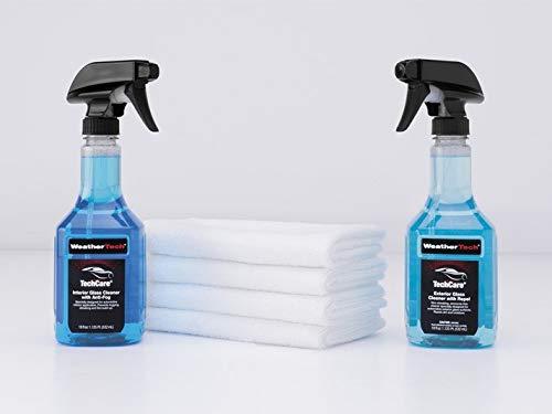 WeatherTech TechCare Premium Glass Care Kit (Techcare Floorliner And Floormat Cleaner Protector Kit)