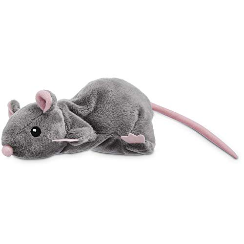 Leaps & Bounds Grey Rat Cat Toy, Gray
