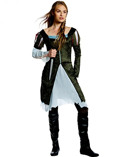 Snow White and The Huntsman Costume, Multi, Medium ()