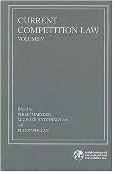 Descargar Ebooks Torrent Current Competition Law: Volume V: V. 5 Directas Epub Gratis