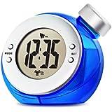 VERSOS ウォーター バッテリー アラーム クロック TIME H2O ブルー VS-302